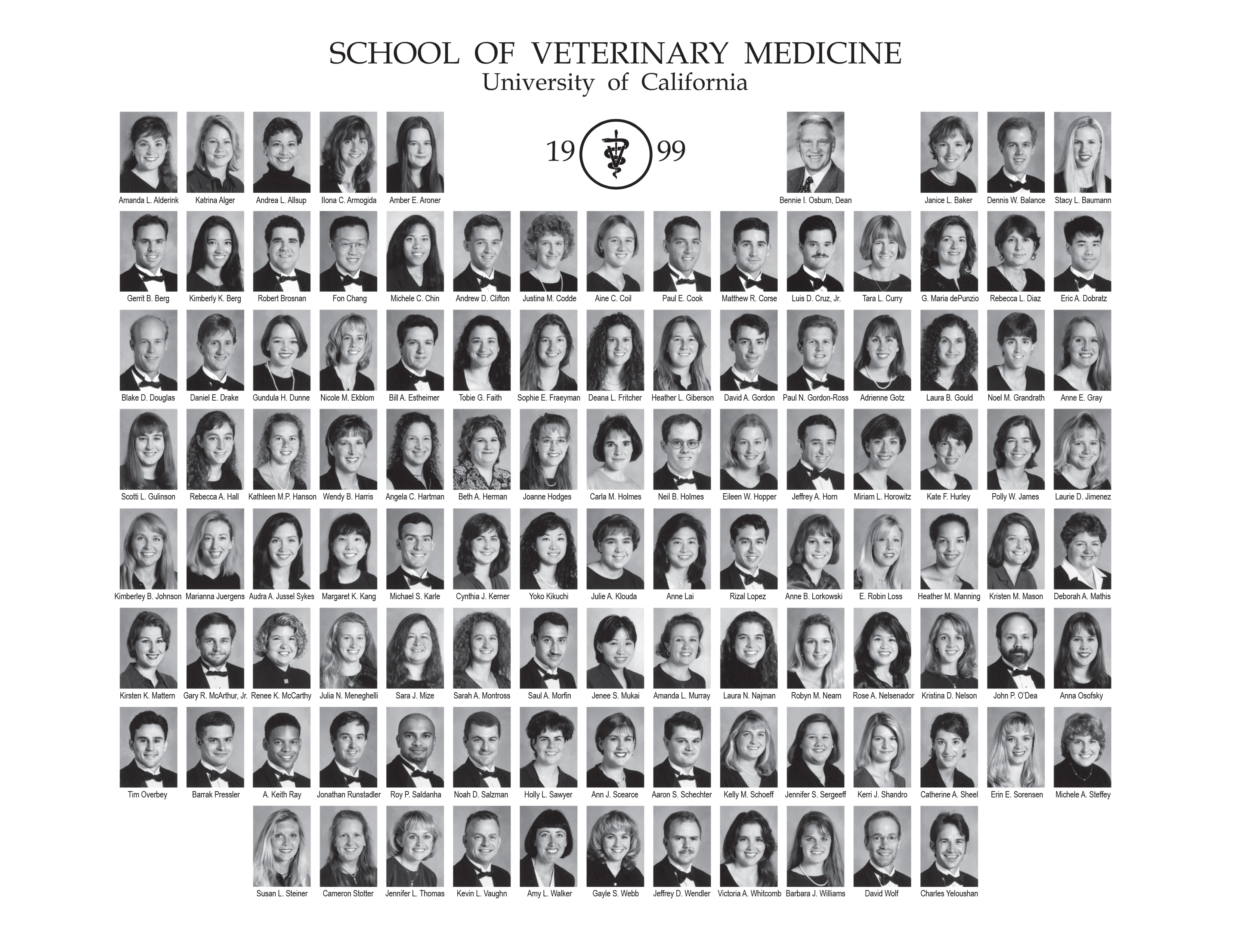 Class of 1999 composite photo