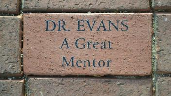 Dr. Evans A Great MEntor