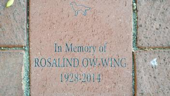 In Memory of Rosalind Ow-Wing 1928-2014