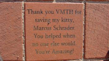 Thank you VMTH for saving my kitty, Marcus Schrader. You helped when no one else would. You're Amazing!