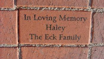 In Loving Memory, Haley. The Eck Family