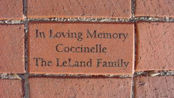 In loving Memory, Coccinelle. The LeLand Family