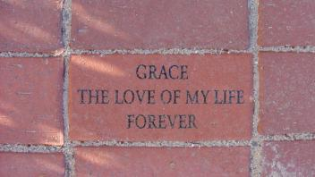 Grace, the love of my life forever.