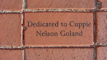 Dedicated to Cuppie Nelson Goland