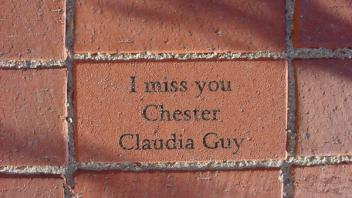 I miss you, Chester. Claudia Guy