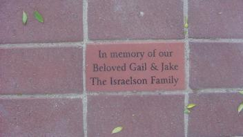 In memory of our Beloved Gail & Jake. The Israelson Family