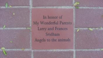 In honor of My Wonderful Parents Larry and Frances Stidham. Angels to the animals.