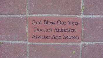 God Bless Our Vets, Doctors Anderson, Atwater and Sexton
