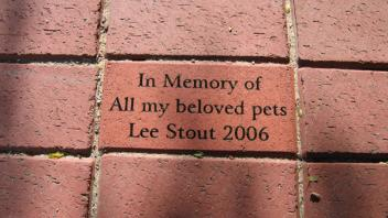 In Memory of all my beloved pets, Lee Stout 2006