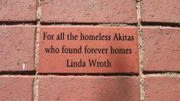 For all the homeless Akitas who found forever homes, Linda Wroth