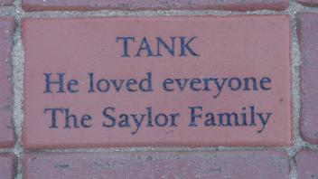 Tank, He loved everyone, The Saylor Family
