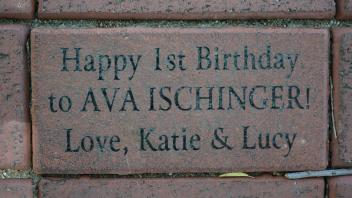 Happy1st Birthday to AVA ISCHINGER! Love, Katie & Lucy