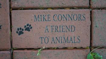 MIKE CONNORS A FRIEND TO ANIMALS