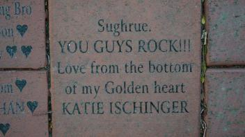 Sughrue. YOU GUYS ROCK!!! Love from the bottom of my golden heart KATIE ISCHINGER
