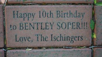 Happy 10th Birthday to BENTLEY SOPER!!! Love, The Ischingers
