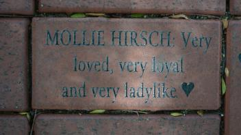 MOLLIE HIRSCH: Very loved, very loyal and very ladylike