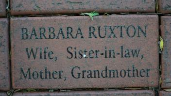 BARBARA RUXTON Wife,  Sister-in-law, Mother, Grandmother