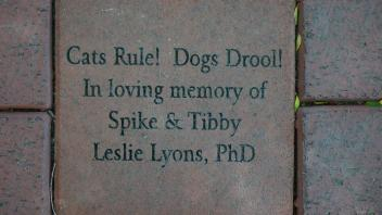 Cats Rule!  Dogs Drool! In loving memory of Spike & Tibby Leslie Lyons, PhD