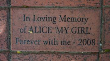 In Loving Memory of ALICE 'MY GIRL' Forever with me - 2008