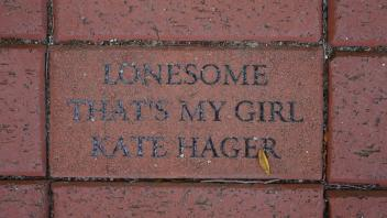 LONESOME THAT'S MY GIRL KATE HAGER