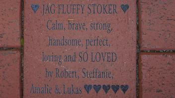 JAG FLUFFY STOKER Calm, brave, strong, handsome, perfect, loving and SO LOVED by Robert, Steffanie, Amalie & Lukas