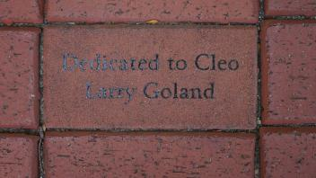 Dedicated to Cleo Larry Goland