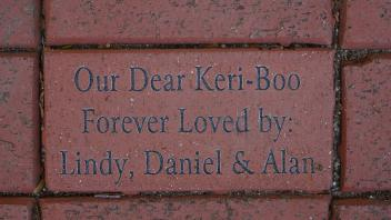 Our Dear Keri-Boo Forever Loved by: Lindy, Daniel & Alan