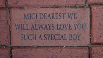 MICI DEAREST WE WILL ALWAYS LOVE YOU SUCH A SPECIAL BOY