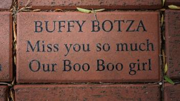 BUFFY BOTZA Miss you so much Our Boo Boo Girl
