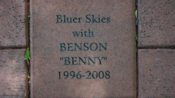 "Bluer Skies with BENSON ""BENNY"" 1996-2008"