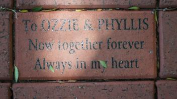 To OZZIE & PHYLLIS Now together forever Always in my heart