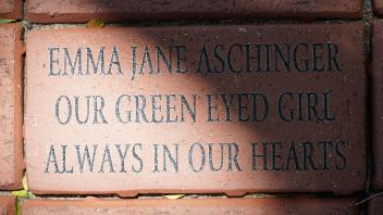 EMMA JANE ASCHINGER OUR GREEN EYED GIRL ALWAYS IN OUR HEARTS