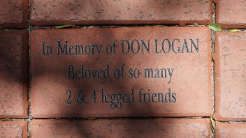 In Memory of DON LOGAN Beloved of so many 2 & 4 legged friends