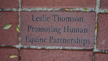 Leslie Thomson Promoting Human Equine Partnerships