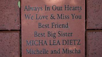 Always In Our Hearts We Love & Miss You Best Friend Best Big Sister MICHA LEA DIETZ Michelle and Mischa