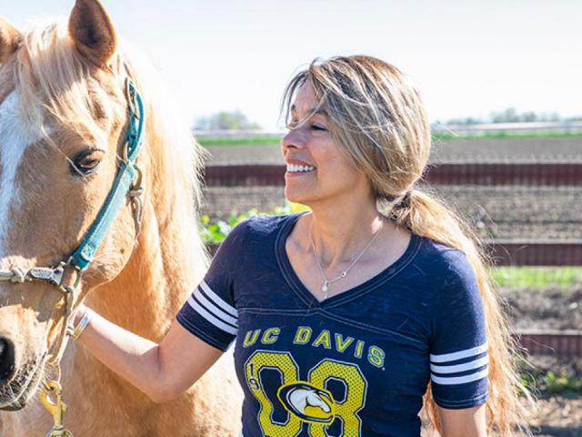 Dr. Monica Aleman, the Dr. Terry Holliday Equine and Comparative Neurology Presidential Chair, is renowned globally for her clinical and research expertise in equine neurology and neurosurgery.