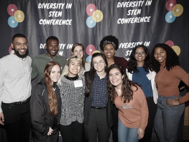 Students at the Diversity in STEM conference