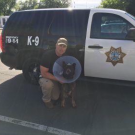 K-9 Officer Blitz with his handler and partner Corporal Brandon Coles of the Sanger Police Department.